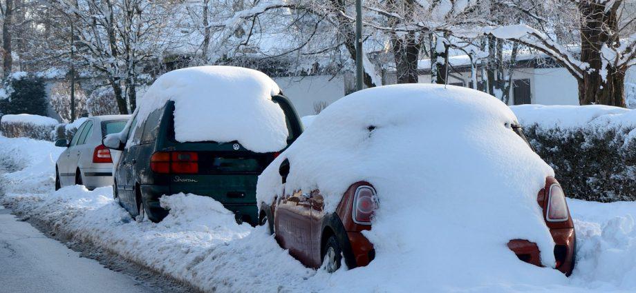 Auto przygotowane do zimy